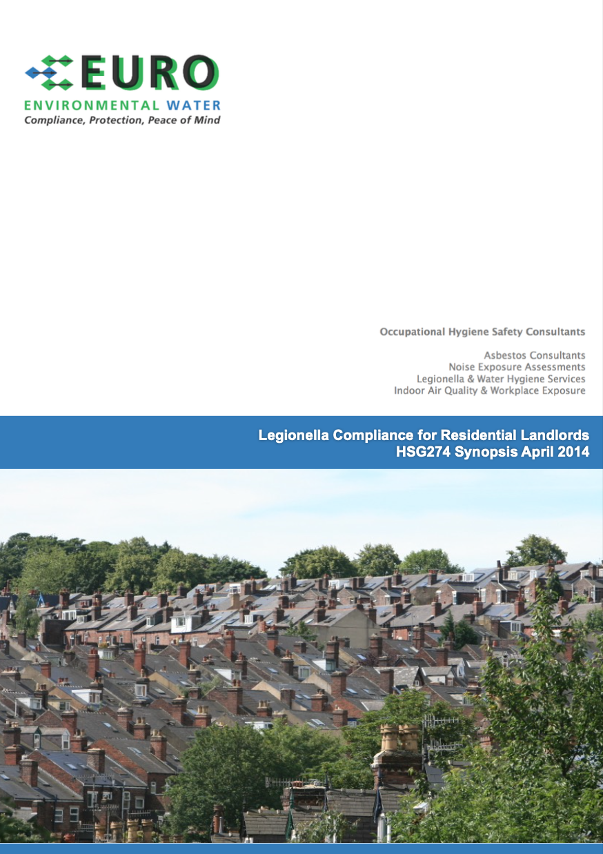 Legionella HSG274 Sypnopsis for Landlords