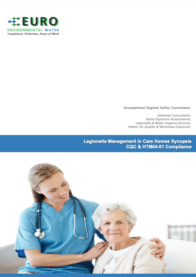 Legionella management in care homes synopsis