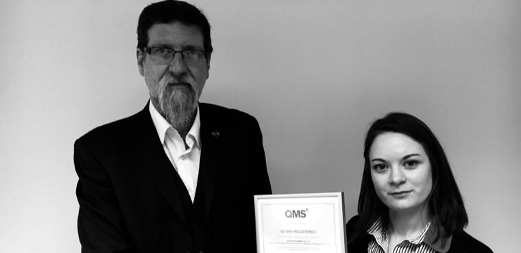 ISO9001 Awarded to Euro Environmental