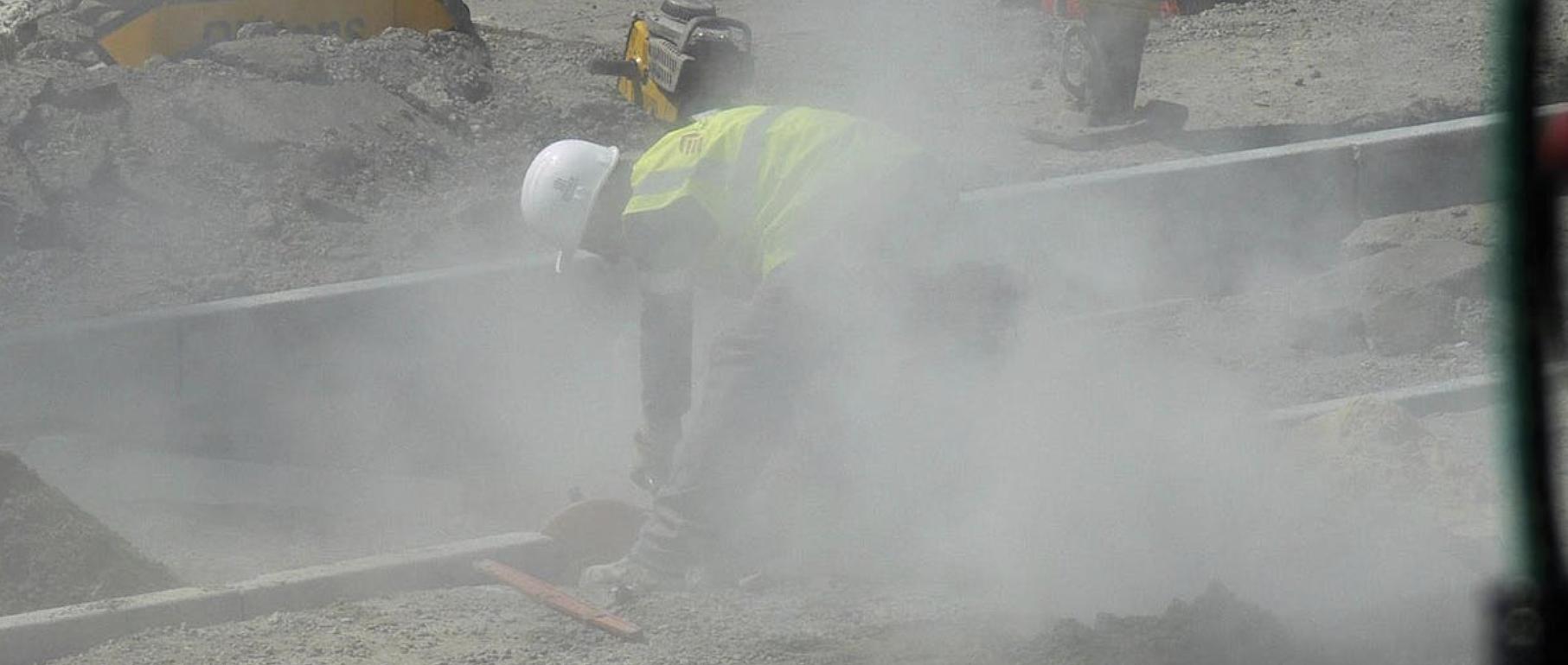 Construction Dust Exposure - HSE Alert